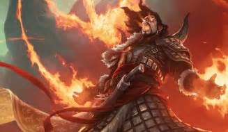 Mtg Elemental Deck by Sarkhan Vol Planeswalkers Magic The Gathering