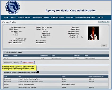 Ahca Background Ahca Central Services Background Screening Clearinghouse