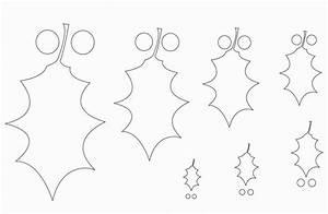 Blätter Vorlagen Zum Ausschneiden : 30 bastelvorlagen f r weihnachten zum ausdrucken ~ Lizthompson.info Haus und Dekorationen