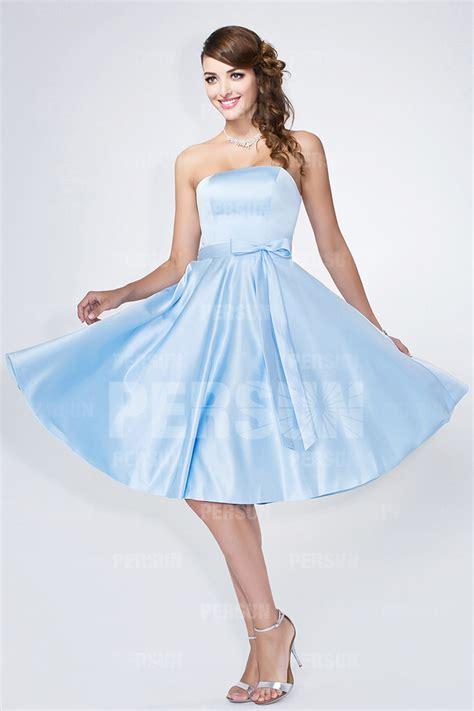 robe bleu pastel pour mariage robe courte bleu pastel bustier coeur pour mariage persun fr