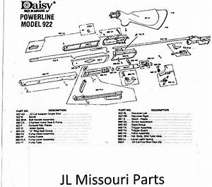 Daisy Powerline 880 Assembly Diagram