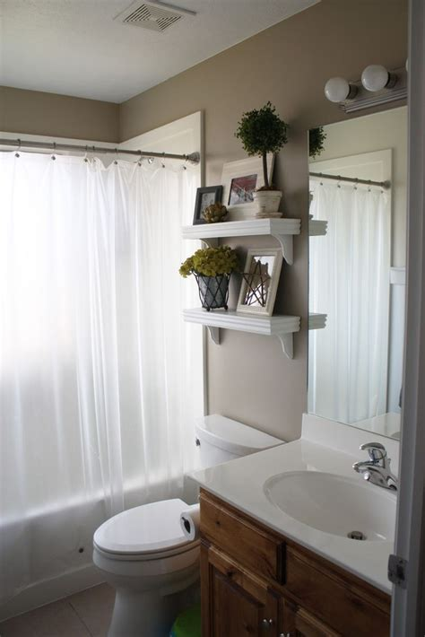 shelves  toilet ideas  pinterest