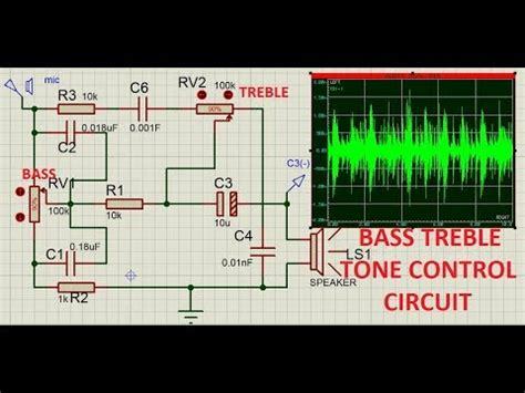 bass treble circuit youtube