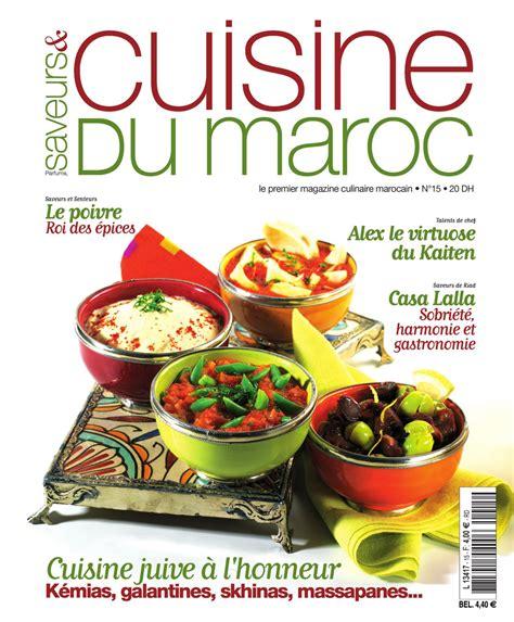 chef cuisine maroc saveurs cuisine du maroc n 15 by de issuu