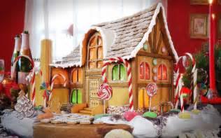 gingerbread house wallpaper wallpapersafari