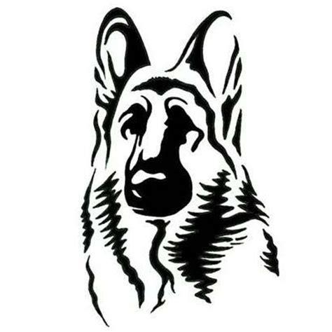 german shepherd dog tattoo design templates german