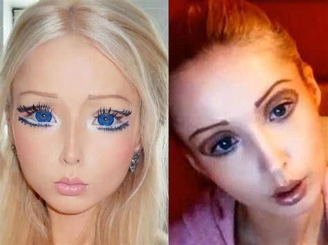 Critics Of The Ukrainian 'barbie' Say She's Been Badly