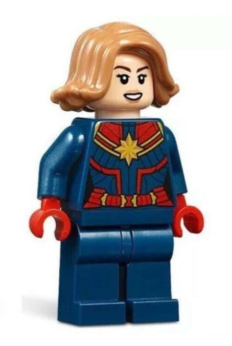 lego avengers  captain marvel minifigure authentic