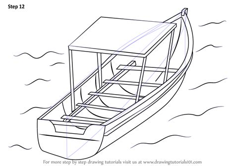 Boat Sinking Drawing by Learn How To Draw Boat In Water Boats And Ships Step By