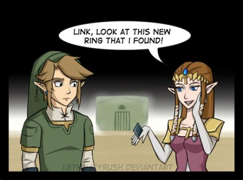 Link And Zelda Married Pictures To Pin On Pinterest