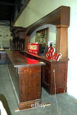 antique pine front  bar saloon bar architectural