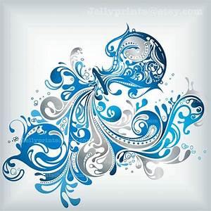 Aquarius Art Print 5x56x67x78x89x911x11 Art by JellyPrints ...