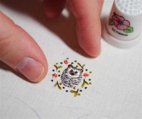 reddit embroidery  hedgehog   embroidery