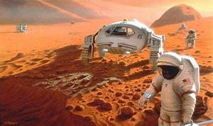 Manned mission to Mars could destroy Martian life
