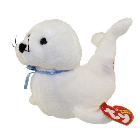 ty beanie baby icing  seal   bbtoystorecom