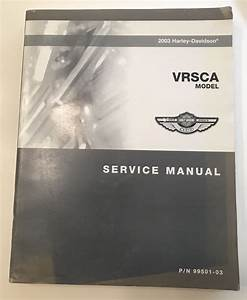 2003 Harley Davidson Hd Motorcycle Vrsca Service Manual P