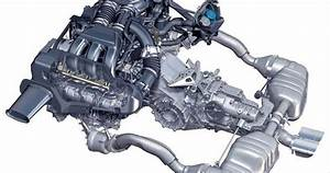2006 Porsche Cayman S Engine View