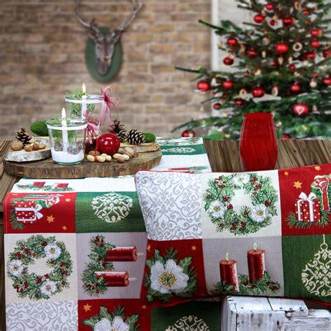 sander tischwäsche weihnachten weihnachtstischdecke und weihnachtskissen shoppen www sander tischwaesche de index php