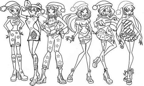 Winx Club Drawing At Getdrawings.com