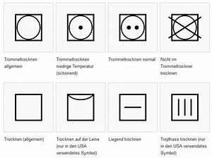 Weichspüler Symbol Waschmaschine : trocknersymbole was bedeuten die zeichen ~ Markanthonyermac.com Haus und Dekorationen