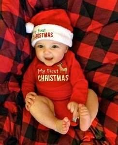 40 Adorable Baby Christmas Picture Ideas Santa Baby