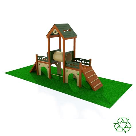 kennel club playground terrabound solutions inc 606 | Dog Playground 4x4 Natural
