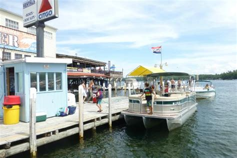 Pontoon Boat Rentals At Lake Winnipesaukee Nh by Anchor Marine Gas And Rental Dock Incl Rental Pontoon