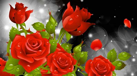 Animated Roses Wallpaper - flowers wallpaper beautiful collection