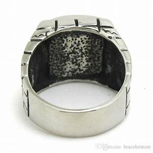 fast shipping ghost skull in prison ring 316l stainless With prison wedding rings