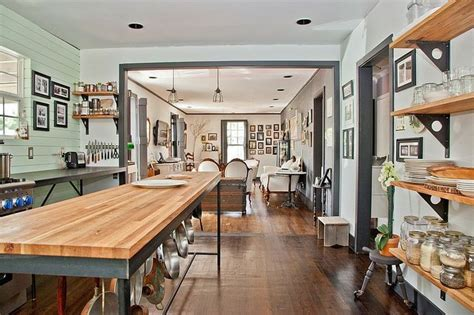 cabinetless kitchen pics eclectic home  austin texas