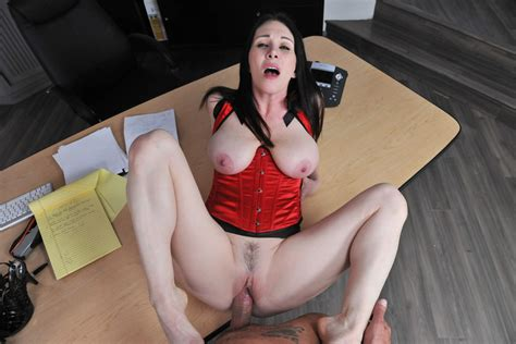 Sexy Office Milf RayVeness Gets Fucked On Her Desk Of