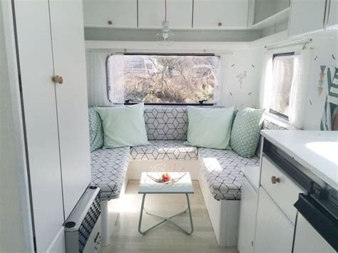 Diy Caravan Upholstery by 25 Best Ideas About Caravan Makeover On