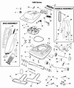 Eureka 1400 Series Parts