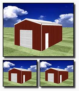 20x30 cad pic country wide barns With 20 by 30 pole barn