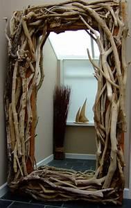 Miroir Bois Flotté : voyez le monde dans le miroir bois flott ~ Teatrodelosmanantiales.com Idées de Décoration