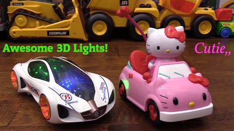Sanrio Hello Kitty Remote Control And Concept Car Bump And