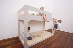 Lit Design Enfant : lits superpos s pour enfant amber in the sky ~ Teatrodelosmanantiales.com Idées de Décoration