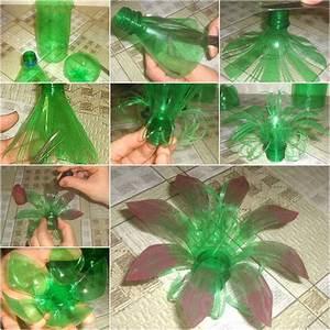 Creative DIY Plastic Bottle Flower