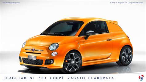 Fiat 500 Zagato by Scagliarini Fiat 500 Coupe Zagato Elaborata Is No Zagato