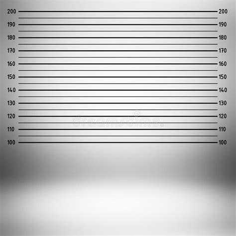 Police Lineup Or Mugshot Background Stock Illustration