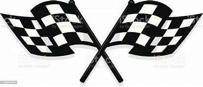 Checkered Flag Vector Clipart Clip Istock Illustrations
