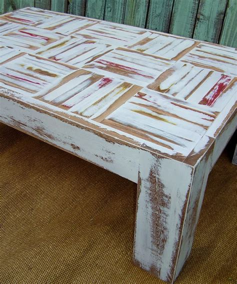 shabby chic coffee table craft ideas pinterest