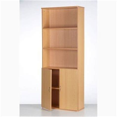 Cupboard With Shelves by Wooden Cupboard Bookcase Cabinet With 5 Shelves Doors