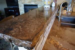 The rustic countertop rustic kitchen denver by all for Rustic kitchen countertops