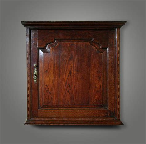 Small Wall Cupboard by Oak Wall Hanging Cupboard With A Shaped Raised And