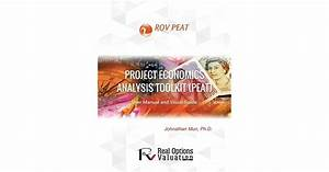 Project Economics Analysis Tool  Peat   User Manual And