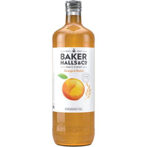 Pour into a pan filled with slightly salted cold water and bring to a boil. Baker Halls & Co Original Orange & Barley Fruit Syrup ...