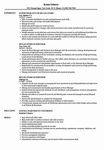Resume Skills Examples For Retail