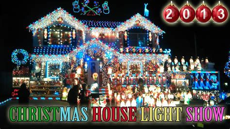 christmas house light show   christmas outdoor