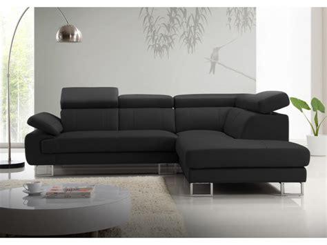 canapé angle cuir conforama canape noir conforama maison design wiblia com